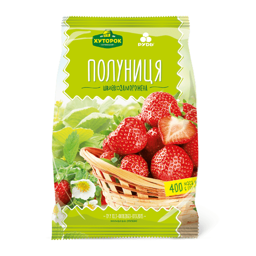 Frozen strawberry 400 gr