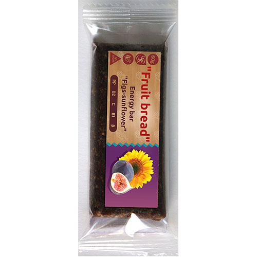 Energy bar 'Fruit bread' Figs-sunflower 60g Fruit Bread online shop Dubai