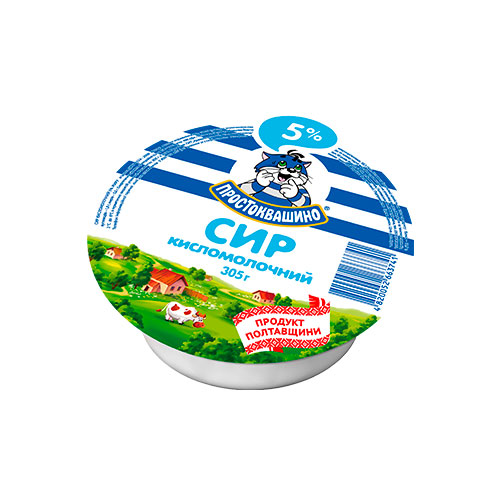 Cottage cheese 5% 305g Danone online shop Dubai