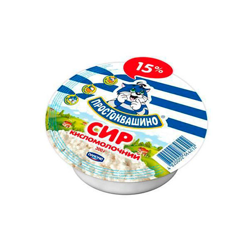 Cottage cheese 15% 300g  Danone online shop Dubai