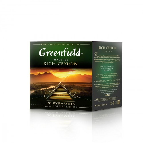 Black tea rich ceylon tb 2g x 20 Greenfield online shop Dubai