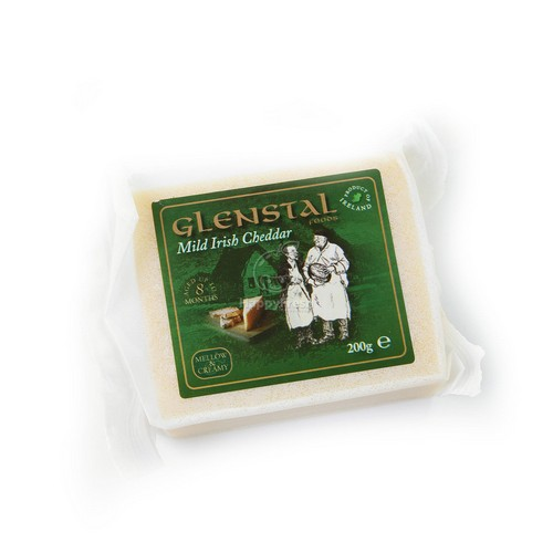 Glenstal IRISH Mild Couloured Cheddar 200g