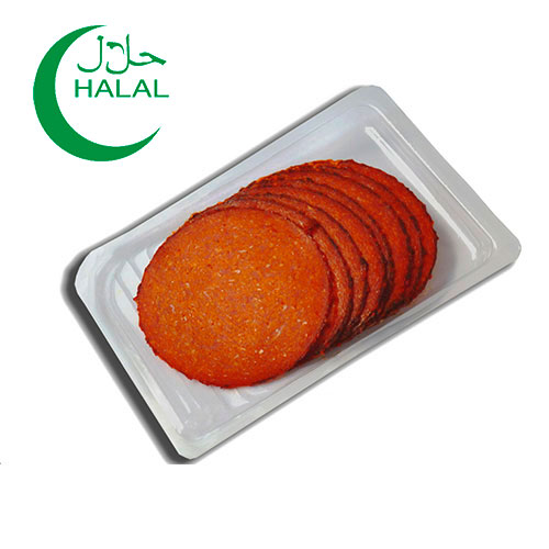 Turkey Salami coated with Chili in slices 80g