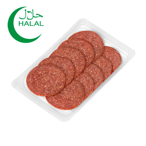 Sucuk Garlic Sausage in slices 80g Home Traditions online shop Dubai