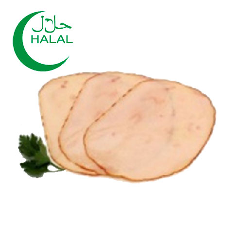 Smoked turkey breast HALAL 100g