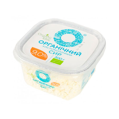 Cottage cheese organic 9% 300g