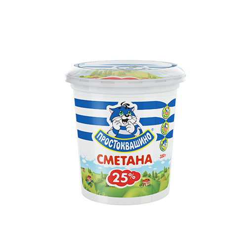 Sour Cream 25% cup 350g
