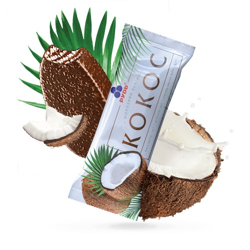 Ice cream 'Coconut' Eskimo 70g Rud online shop Dubai