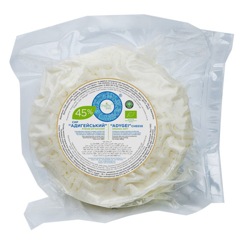 Organic Adygei soft cheese 45% 270g Organic Milk online shop Dubai
