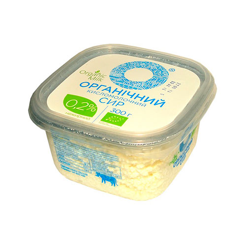 Cottage cheese organic 0,2% 300g Organic Milk online shop Dubai
