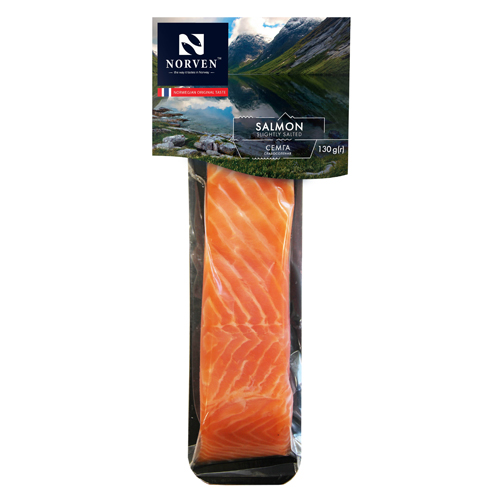 Salted salmon fillet 130g