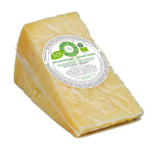 Organic hard cheese 50% 300g Organic Milk online shop Dubai