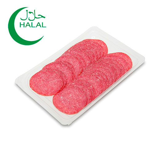 Turkey Salami with Beef in slices (Double line) 80g Home Traditions online shop Dubai