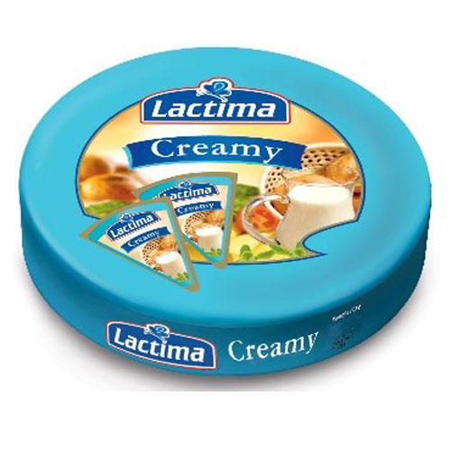 Processed cheese portions 'Creamy' 120g Lactima online shop Dubai