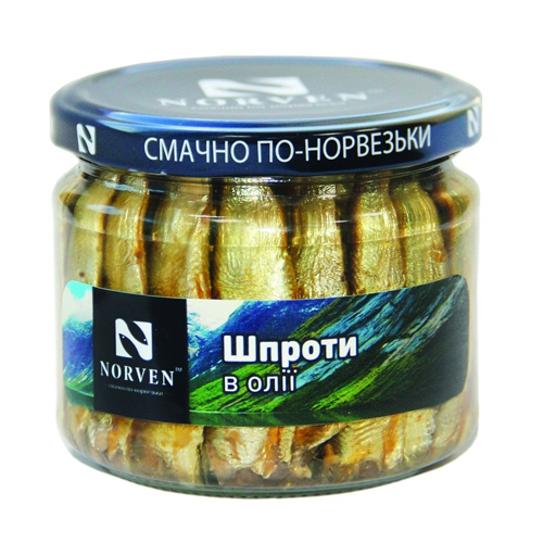 Sprats in oil 210g