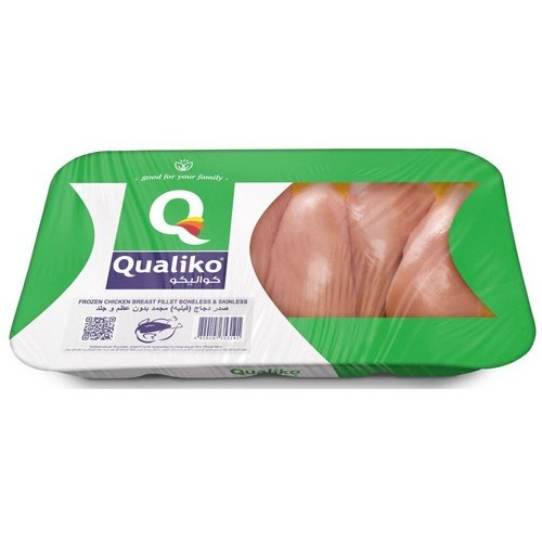 Qualiko Chicken Breast frozen HALAL 900g