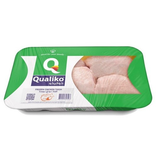 Qualiko Chicken Thighs frozen HALAL 900g