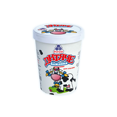 Soft ice cream 'Children Desire' 500g Rud online shop Dubai