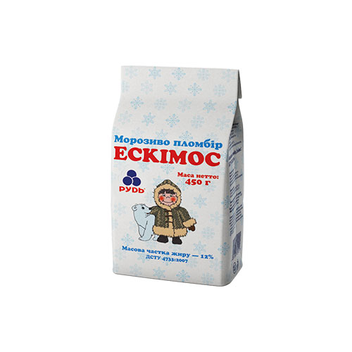 Ice Cream Plombir 'The Esquimau' 450g Rud online shop Dubai